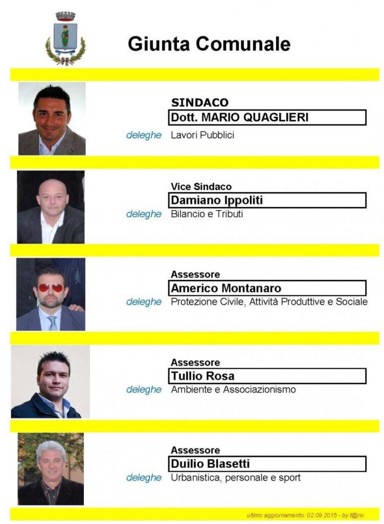 GIUNTA COMUNALE 2012-agg. 09.2015