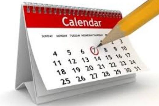 Determinazione calendario festività religiose ortodosse per l'anno 2019